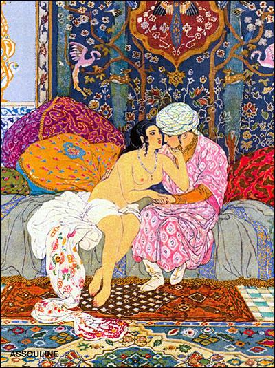 mille et une nuit encens erotisme sensualité magie sexuelle