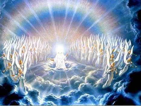 anges lumière prière encens rituel