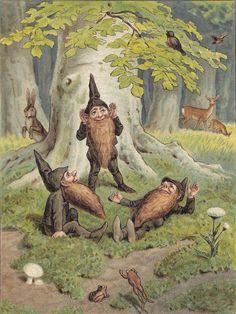 esprits terre lutins gnomes encens rituel magie naturelle