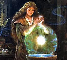 incantation prière magie rituel encens