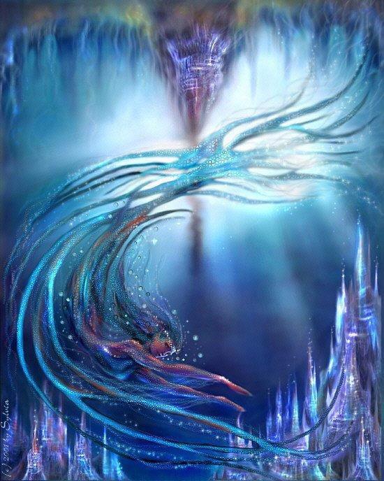 ondine esprits eau magie naturelle rituel