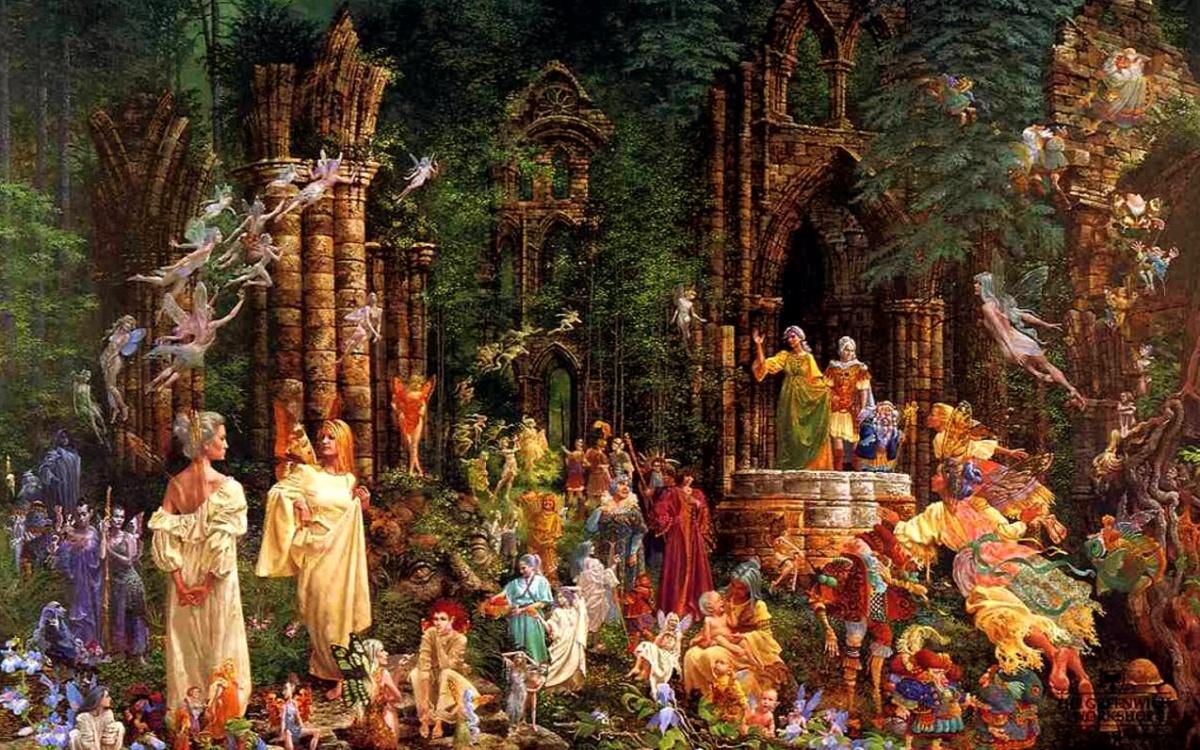 petit peuple nature esprit élémentaux encens rituel magie