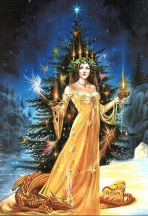 encens rituel celebration solstice hiver