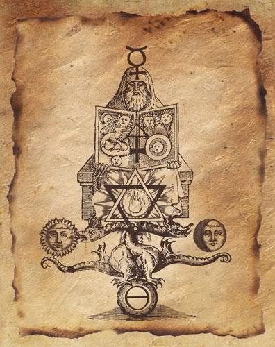 alchimie spirituelle éléments rituel magie encens